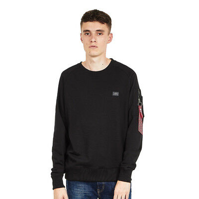 Alpha Industries - X-Fit Sweater Black Pullover Rundhals