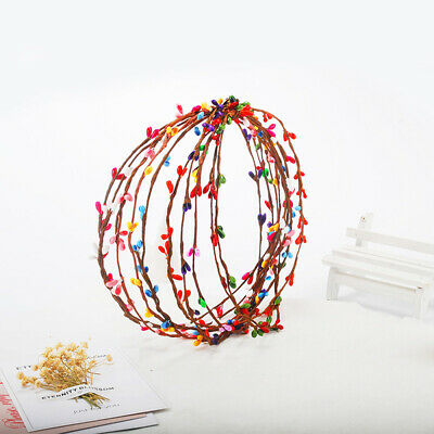 40CM Colorful Wedding Feast Artificial Floral Flower Stamen Rattan DIY Garland
