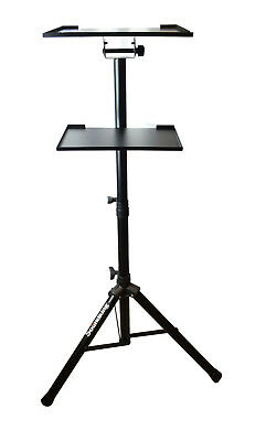 Tripod Adjustable Stand with a side Tray For Notebook Computer Projector