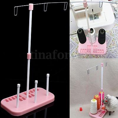Embroidery Thread 3 Spool Holder Sew Quilting Stand Rack Home Sewing Machine HOT