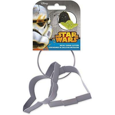 Star Wars - Darth Vader And Yoda Cookie Cutter Set - New & Official Lucasfilm