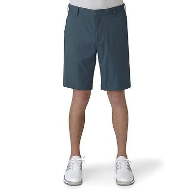 Adidas Golf 2016 Puremotion Stretch 3-Stripes Shorts (Mineral Blue/Stone)