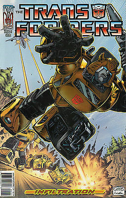 Transformers Infiltration #1 (NM)`06 Furman/ Su (Cover C)