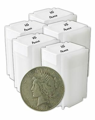 Silver Peace Dollar VG+ Lot of 100