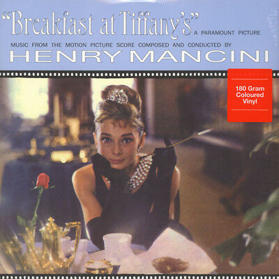 Henry Mancini - OST Breakfast At Tiffany's Blue  (LP - 1961 - EU - Reissue)