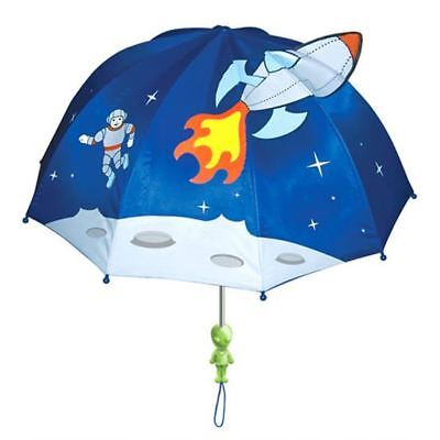 Kidorable Children's Kids Space Hero Nylon Whimsical Umbrella Brolly New