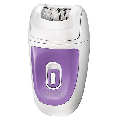 Remington EP7010 White/Violet Ladies Smooth & Silky Corded Epilator Shaver New