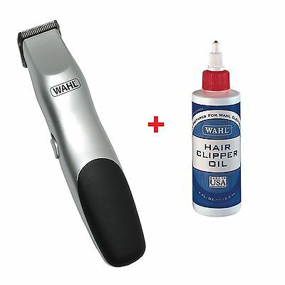 Wahl Battery Cordless Pet Animal Clipper Trimmer Kit Free Shaver Oil New