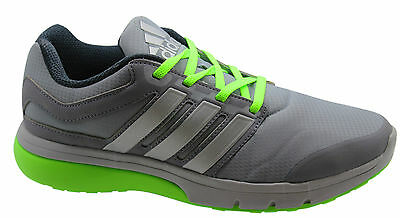 Adidas Sports Performance Turbo 2.0 Mens Trainers Running Shoes Grey M18967 WH