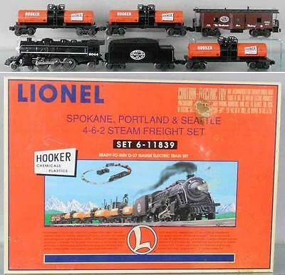 Lionel 11839- Hooker Chemical Steam Freight Set- Sealed- R3