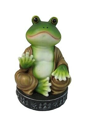 Buddha Frog Inspirational Religious Statue Buddhist Decor Gifts and Figurines