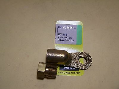 Battery Connection Compression Terminal - Side Terminal And Stud - 3/0 Gauge