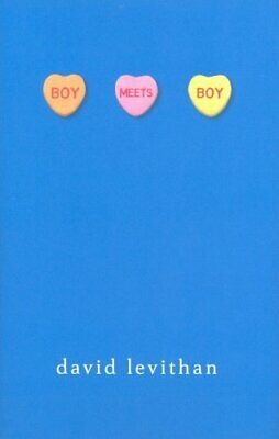 Boy Meets Boy by Levithan, David Hardback Book The Cheap Fast Free Post