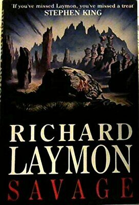 Savage by Laymon, Richard Hardback Book The Cheap Fast Free Post