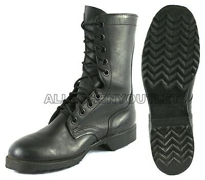 USGI Vintage All Leather Military Combat Boots Genuine Issue ...