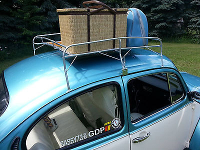 Type 1 Roof Rack, Knock Down Style Powder Coated Silver
