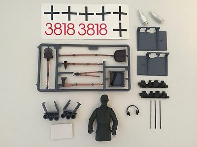 Heng Long Radio Control Tank German Tiger Accessory Set For 1/16 Scale Parts