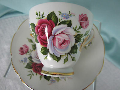 Royal Sutherland Staffordshire Cup & Saucer Yellow Rose Fine Bone China England