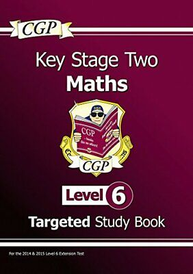 KS2 Maths Study Book: Level 6 - for SATS until 2015 only by CGP Books Book The