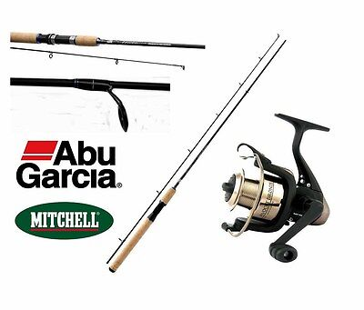 Kp464 Canna Spinning Abu Garcia Devil 2.40 + Mulinello Pp