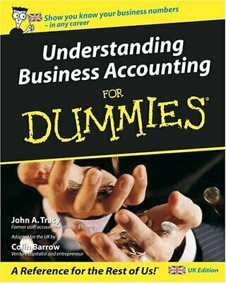 Understanding Business Accounting for Dummies - UK... by John A. Tracy Paperback