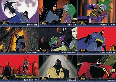 Batman Animated Series 1 2005 Topps Complete Base Card Set Of 90 Dc