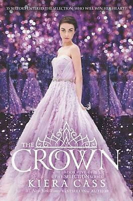 The Crown by Kiera Cass (English) Hardcover Book Free Shipping!