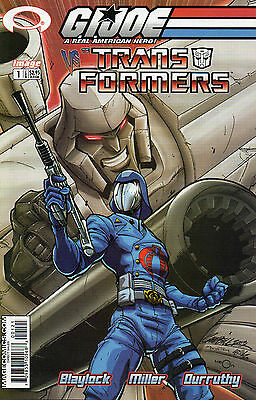 GI Joe vs Transformers #1 (NM)`03 Blaylock/ Miller  (Cover B)
