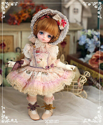 NEW ROSEN LIED Tuesday's Child Limited Maroon - Cup Cake (White Skin)