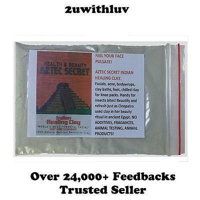 Aztec Secret Indian Healing Clay Sample Trial Pack The Most Powerful Facial
