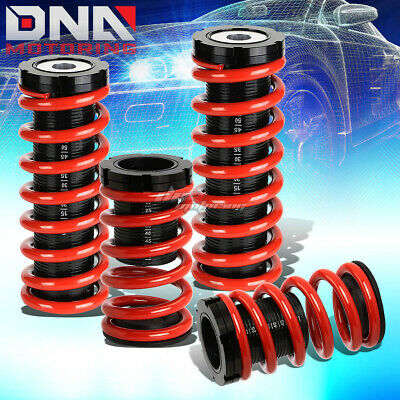 "For 00-05 Eclipse 3G 1-3""scaled Suspension Lowering Coilover Red Coil Springs"