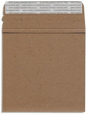 "25-Pak =Guided Products= Recycled Quick Sleeve w/ Zipper 5.25"" x 5.25"" ReMAILER"