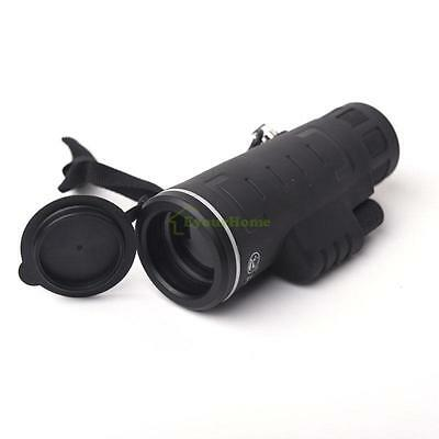 High Power Portable 40X60 HD Optical BAK4 Night Vision Monocular Telescope 254ft