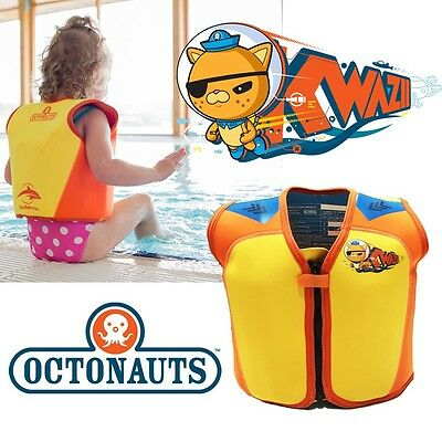 Konfidence Octonauts Kwazii Swim Float Buoyancy Jacket 18m-3years 4-5 years