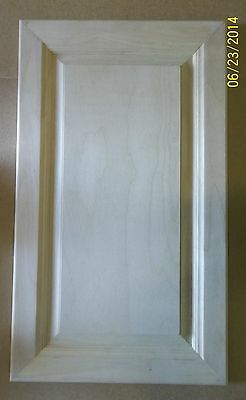 Cabinet Door, Maple, Raised Panel, Unfinished, 10