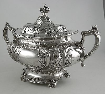 Sterling Gorham A6423 sugar bowl (1916)
