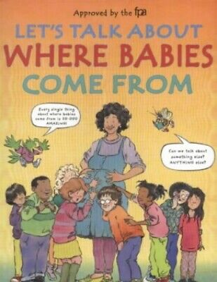 Let's Talk About Where Babies Come from by Harris, Robie H. Hardback Book The