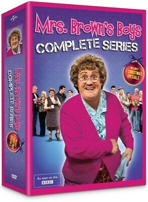Mrs. Brown's Boys: Complete Series [New DVD] Boxed Set, Snap Case