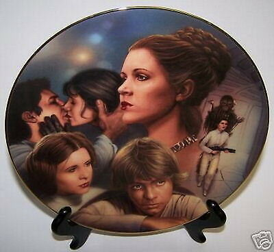 Star Wars Princess Leia Plate Heroes & Villains Figures