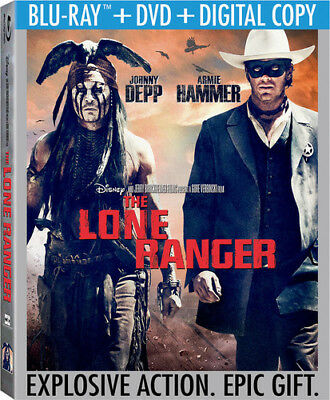 The Lone Ranger [New Blu-ray] With DVD, 2 Pack, Ac-3/Dolby Digital, Digital Co