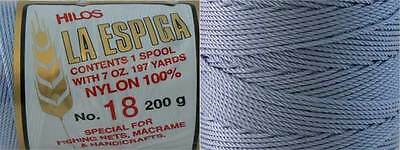 Omega Nylon Crochet Thread Size 18 - Baby Blue Color #22