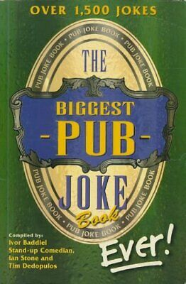 The Biggest Pub Joke Book Ever - Adult Content by TIM DEDOPULOS Paperback Book