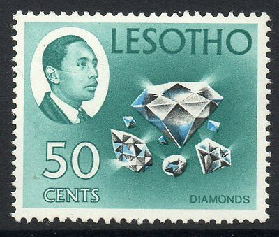 LESOTHO SG157 1969 50c DEFINITIVE MTD MINT