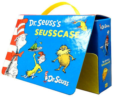 Dr Seuss's Seusscase Collection 10 Books Set Wonderful Suitcase Style Gift Pack
