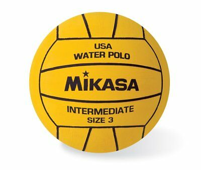 Mikasa USA Water Polo Approved Ball, Youth Size 3 Intermediate-Yellow