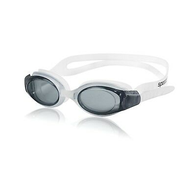 Speedo Hydrosity Swim-Swimming Goggle Anti Fog Goggles Excellent Fitness - Smoke