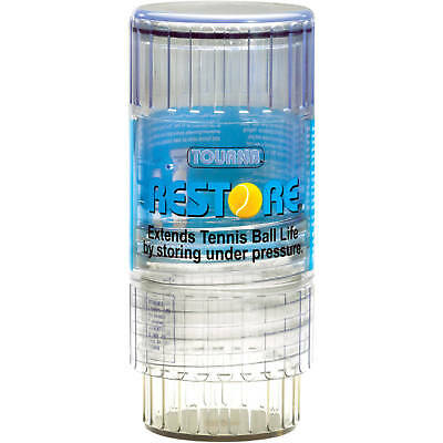 Tourna Restore Tennis Ball Saver Container Re Pressurize & Extend Life Of Ball
