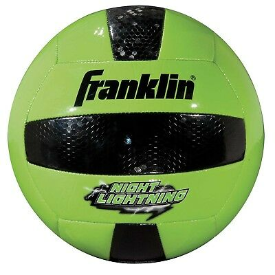 Franklin Sports Glow In The Dark Official Size Volleyball Ball Heavy Duty 11509