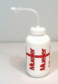 Mueller Sports Medicine Squeeze Quart Water Bottle With Straw Football Baseball