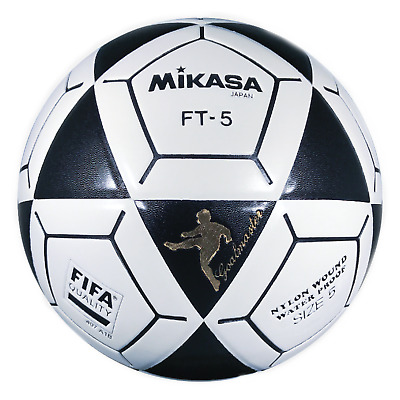 Mikasa Official Goal Master Soccer Football Ball Size 5 White With Black FT5 New